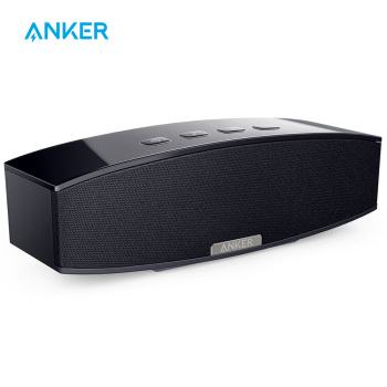Anker 20W Premium Stereo Portable Bluetooth Speaker with Dual 10W Drivers Two Passive Subwoofers Wireless Speaker for iPhone etc