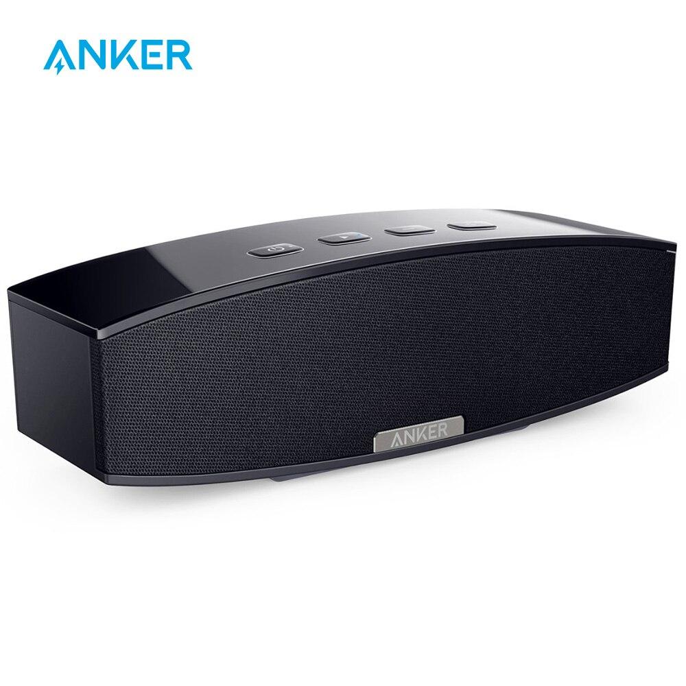 Haut-parleur stéréo portatif de Bluetooth de la meilleure qualité Anker 20 W avec le double haut-parleur sans fil de deux caissons de basses passifs de conducteurs de 10 W pour l'iphone etc.