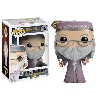 Funko pop  Movie: Harry potter - Dumbledore Vinyl Figure  Model Toy with Original Box