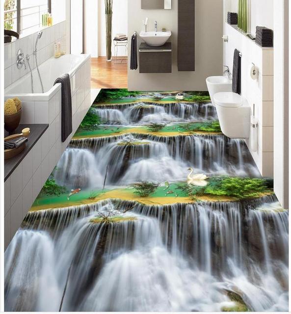 Aliexpress Com Buy 3d Floor Stickers Photo Wallpaper