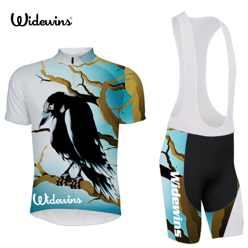 Crow Classic mesh Breathable pro short sleeve cycling jerseys High quality bicycle shirt stripe design bicycle equipment 5452
