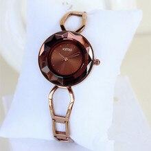 Kimio De Mode de luxe de Femmes Unique design montre à quartz montre bracelet montre Dames De Luxe Bracelet wirstatches