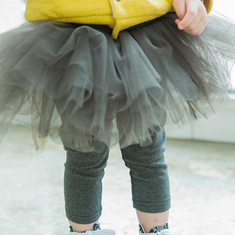 2107 New Boy Pants Baby Children Fluffy Skirt Leggings Yarn Baby 5 Ply Yarn Waist Pants Girls Leggings Baby Girl Clothes material girl new black animal print leggings msrp $22 5 dbfl