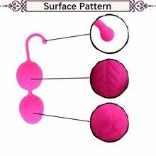 Silicone Tensile Kegel Balls Vibrator Sex Toys for Woman & Couples