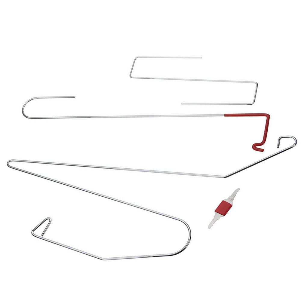 Автомобильный Дверной замок аварийный открытый разблокировочный ключ набор инструментов+ черный воздушный насос Универсальный