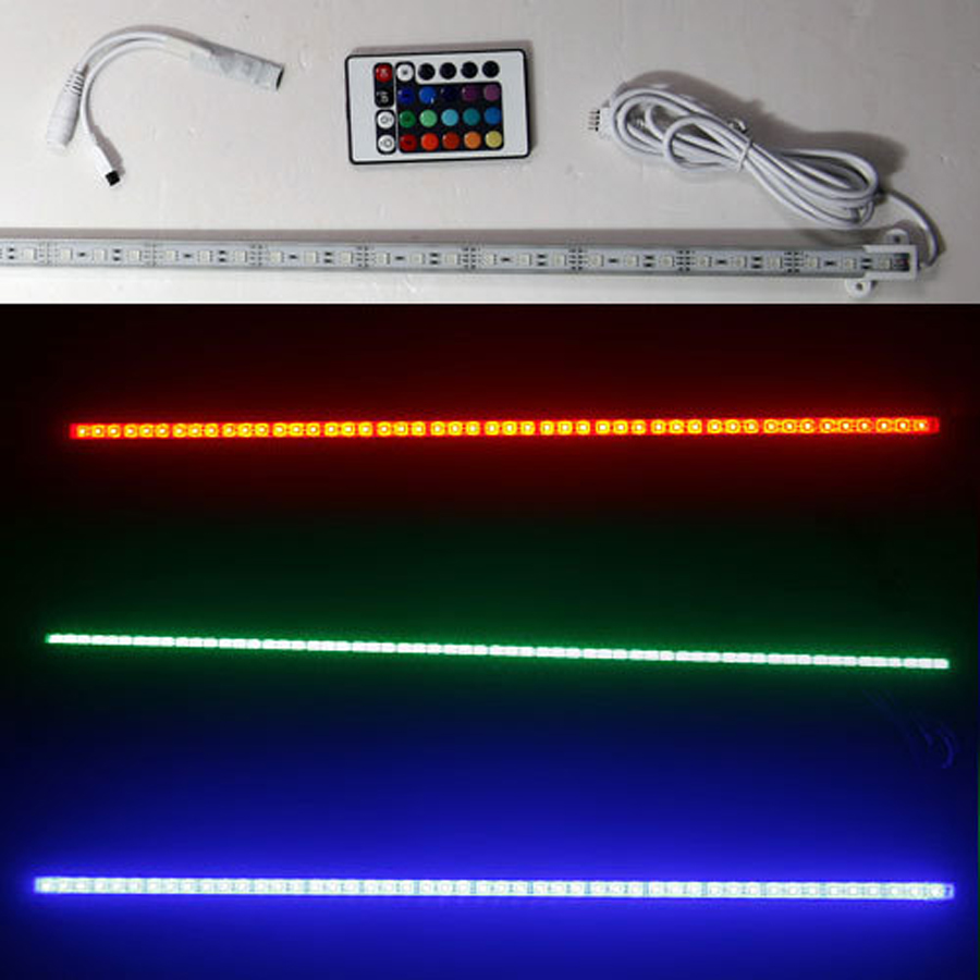 100CM LED aquarium lights remote control RGB conversion professional plant growth lights