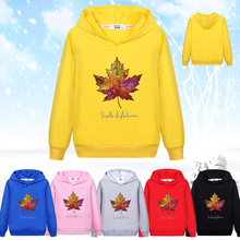 New Arrivals Boys Hoodies Sweatshirts Canada Red Maple Leaf