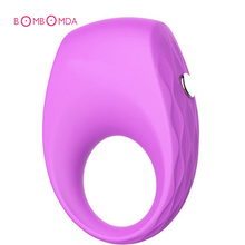 Cock Ring Vibrator Silicone Vibrating Cock Ring Penis Rings Time Delay Sex Toys For Men