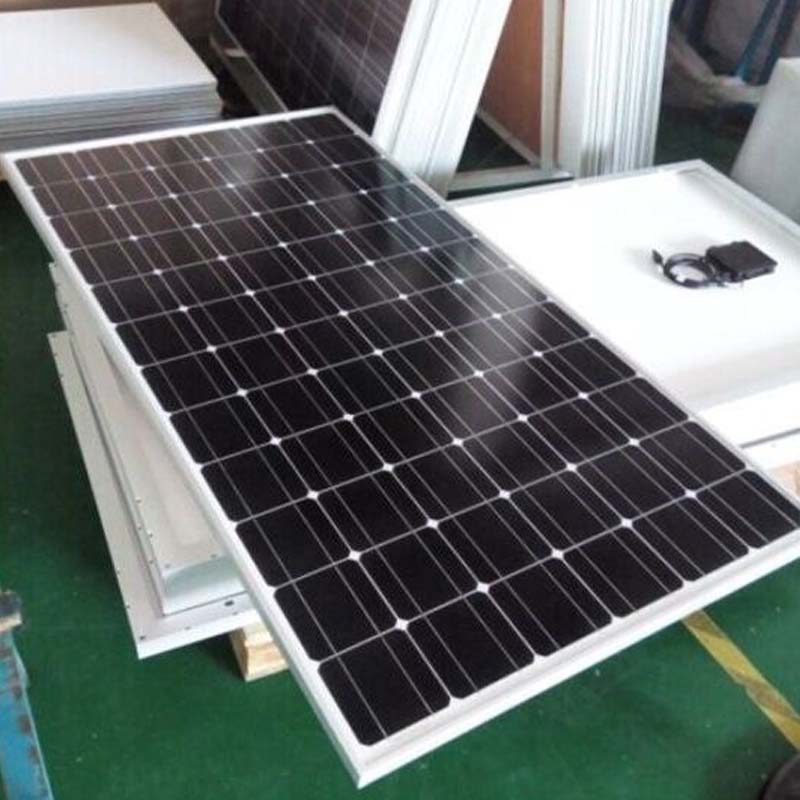 Monocrystalline <font><b>Solar</b></font> <font><b>Panel</b></font> 300w 24v 10Pcs <font><b>Solar</b></font> Battery Charger <font><b>Solar</b></font> Home System 3KW 220v 110V RV Off On Grid System Roof Boat image