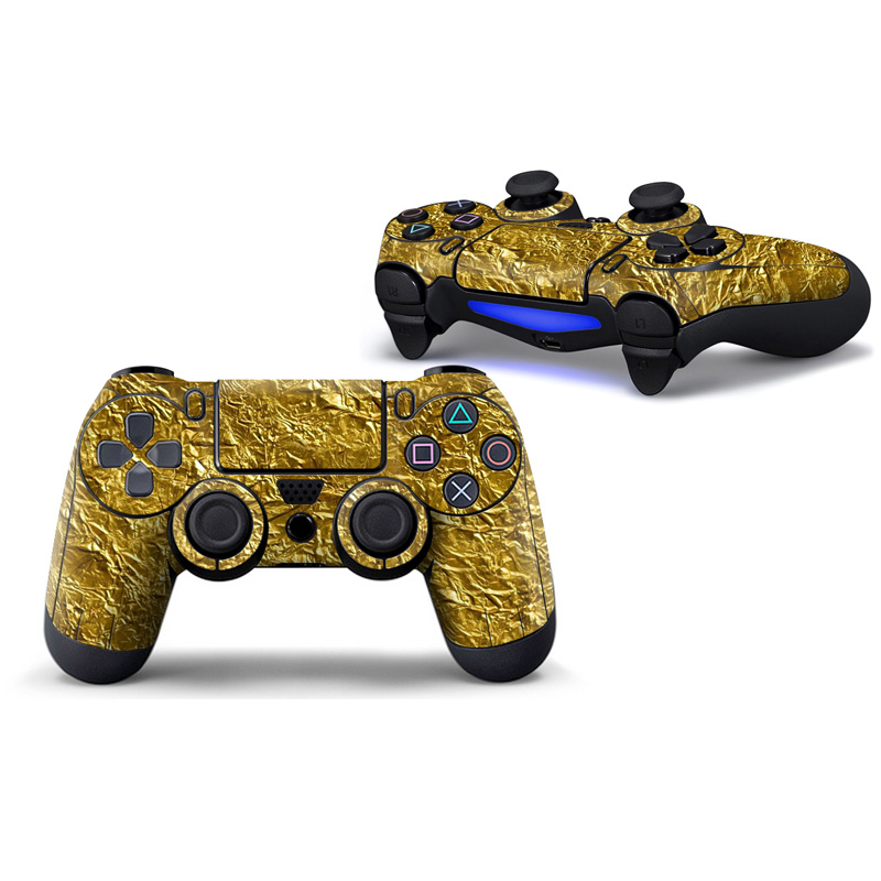 2PCS Hot Product Colorful Design Skin Sticker For PS4 Pro for ps4 slim controllerVinyl Decal Skin Sticker for for ps4 controller