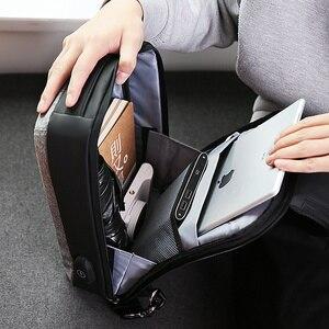 Image 3 - Mark Ryden Nam Đeo Chéo, Túi Đựng Túi Đeo Vai Dung Lượng Cao Ngực Túi USB Sạc Thiết Kế