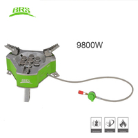 BRS Powerfully Outdoor Camping Gas Burner Portable Picnic Cooking Windproof Stove BRS 71