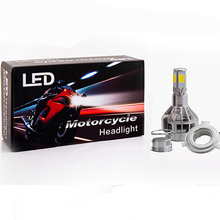 LED motorcycle headlight H4 motorbike light BA20D flasher motos fog lights for ktm exc cafe racer harley motorcycle accessories