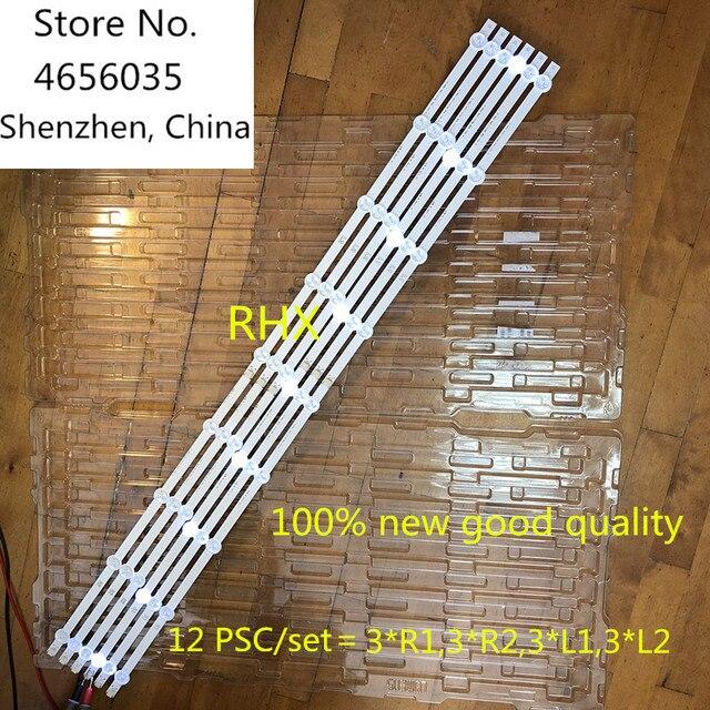 """12 Pieces/set NEW 47"""" LG 47LN5400 CN LED strip 6916L 1174A 6916L 1175A 6916L 1176A 6916L 1177A,(3*R1,3*R2,3*L1,3*L2) R1+L1=94CM"""
