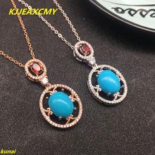 Kjjeaxcmy boutique jewels кулон и ожерелье из серебра 925 пробы