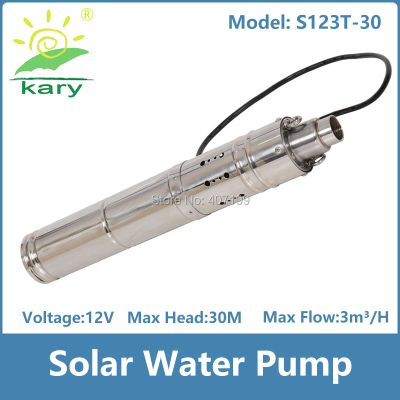 DC12V 150W Solar Pump 3 Solar Submersible Pump High Pressure Solar Water Pump,1hp borewell water fountain pump for sale isw 100 100a water pump 4 inch horizontal inline pump for sale