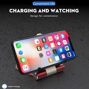 Image 5 - Cargador inalámbrico Qi de 10W para coche, cargador rápido inalámbrico, soporte plegable de Iron Man para iPhone XS, X, Samsung S9, S8
