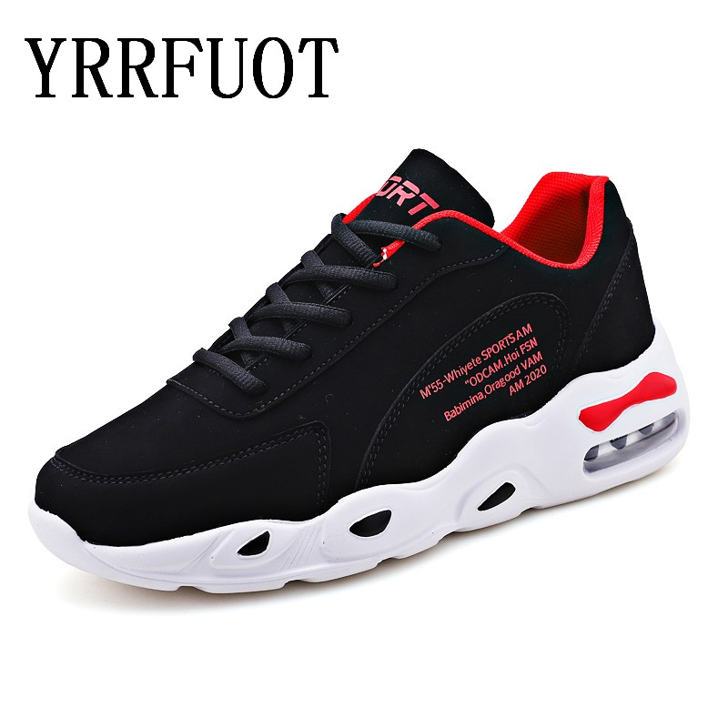 New Mens Air Cushion Outdoor Running Shoes Brand Light Damping Man Sneakers High Quality Lace-up Non-slip Sports Shoes  ZapatosNew Mens Air Cushion Outdoor Running Shoes Brand Light Damping Man Sneakers High Quality Lace-up Non-slip Sports Shoes  Zapatos