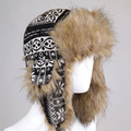 2016 Fashion Hot Sale Bomber Hats Ushanka Russian Hats Fur Winter Hat sports snow outdoor warm ear flaps cap for men women Hats