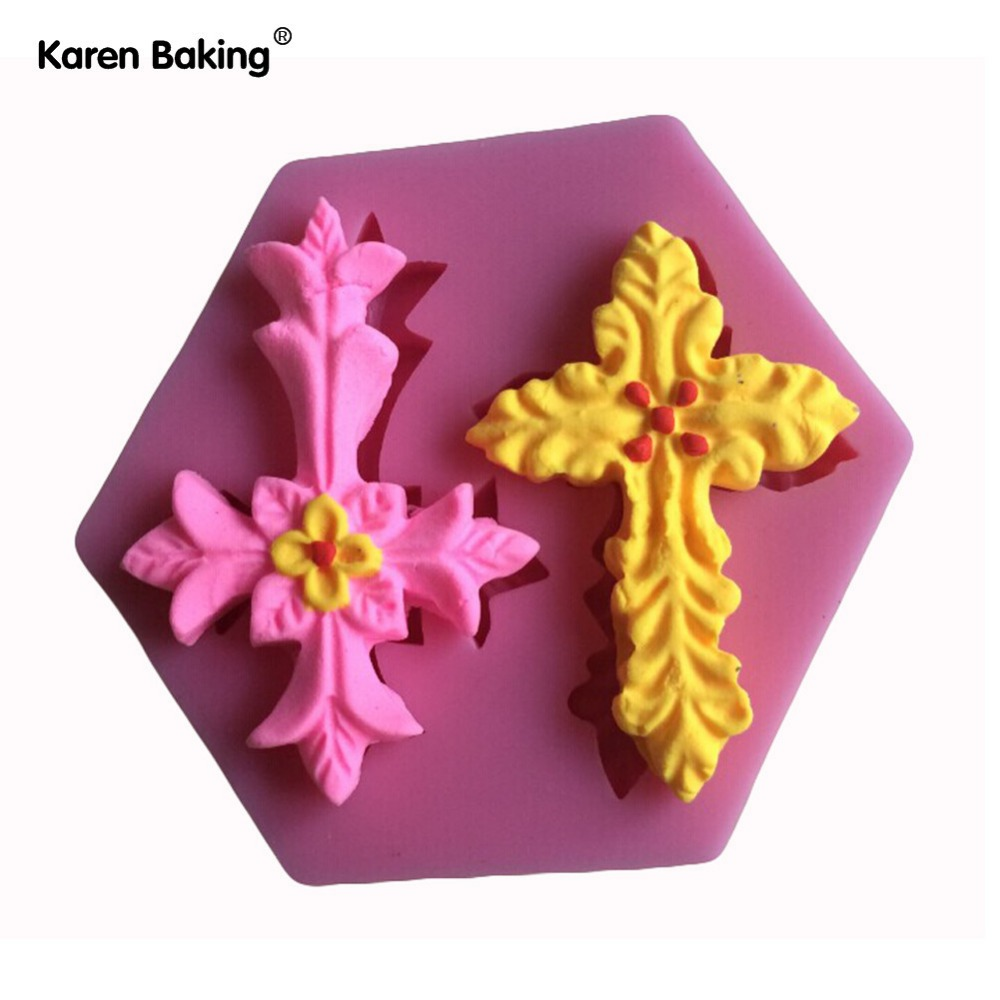 Chocolate Fondant First Communion Chalice Silicone Mold for Cake Decorating