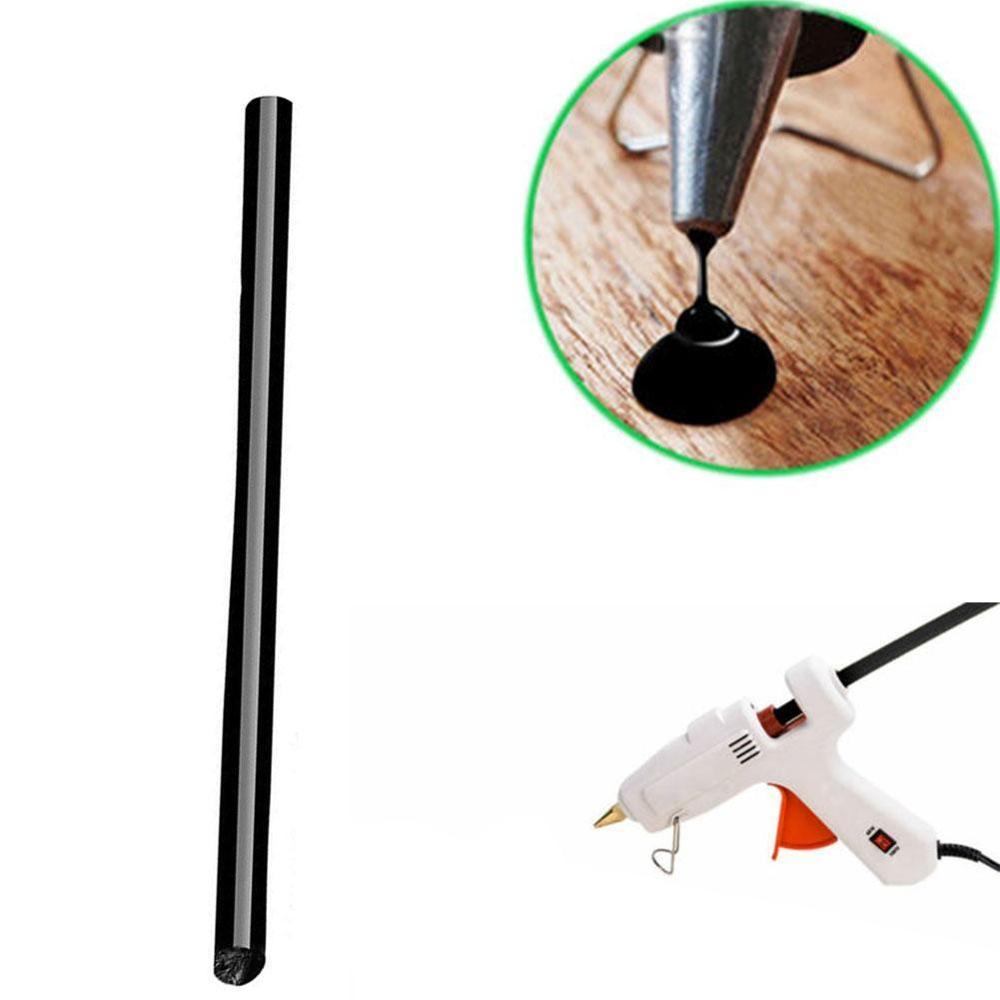 10Pcs 7*100mm Black Hot Melt Glue Sticks For 7mm Glue Gun Auto Repair Tools Car Dent Paintless Removal Hand DIY Repair Tools