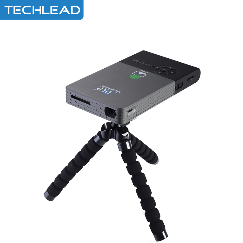cheap smart mini dlp projector c2 android 4 4 portable. Black Bedroom Furniture Sets. Home Design Ideas