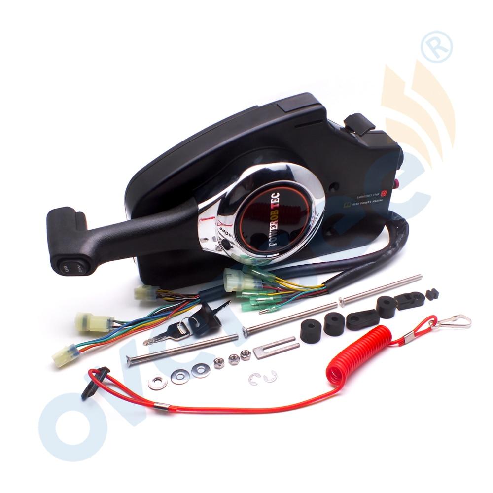 24800 ZZ5 A22 пульт дистанционного управления для HONDA подвесной мотор BF40 150, Дополнительный провод жгут исключен