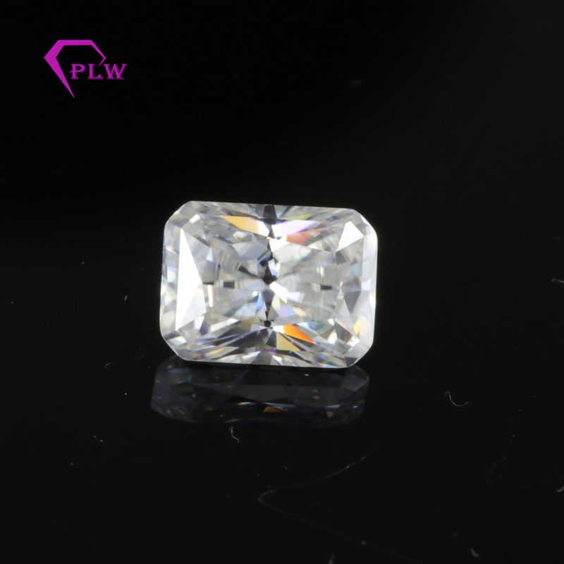 Provence jewelry Dcolor 3carat 7*9mm Radiant cut moissanite lab grown look like diamon 3ex VVS for ring bracelet necklace Provence jewelry Dcolor 3carat 7*9mm Radiant cut moissanite lab grown look like diamon 3ex VVS for ring bracelet necklace