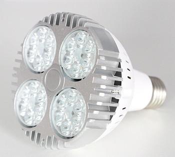 цена на LED par30 45W lamp bright bulb E27 Warm Cold White bulb spotlight high quality high lumen PAR30 led spot light free shipping