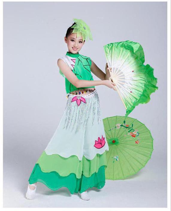 b26913a20 Children s Dancewear National Girl Dance Costume Yangko Dance Wear ...