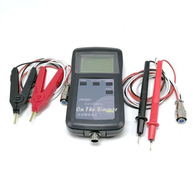 Original high precision YR1035 lithium battery internal resistance test instrument high voltage 100V electric vehicle battery