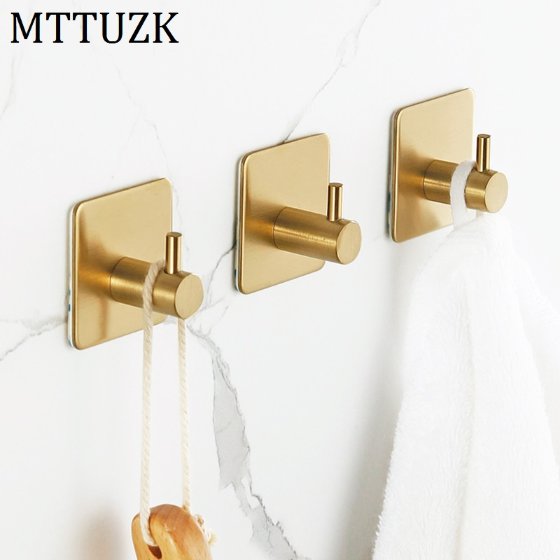 Mttuzk 304 Stainless Steel Brushed Gold