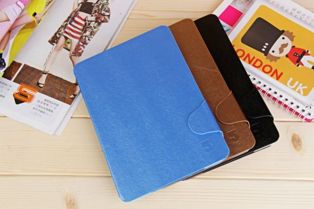 3color 7.85 Inch FNF Ifive mini 3 retina Leather Case Cover support sleep wake - hongtai store