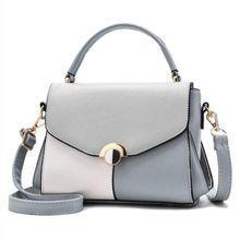 Fashion Hit Color Designer Women Leather Bags Ladies Handbag Tote Top-handle