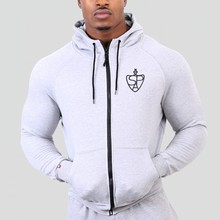 2016 Gymshark Hoodies camisetas masculina hombre coat Bodybuilding and fitness hoodies Sweatshirts Muscle men's sportswear
