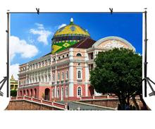 150x220cm Famous Buildings Backdrop Architectural Brazil Empire State Building Photography BackgroundPhoto Screen