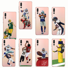 Sports Series sport american football rugby Jr soft silicone phone cases cover for huawei p10 p20 lite plus pro  p8 p9