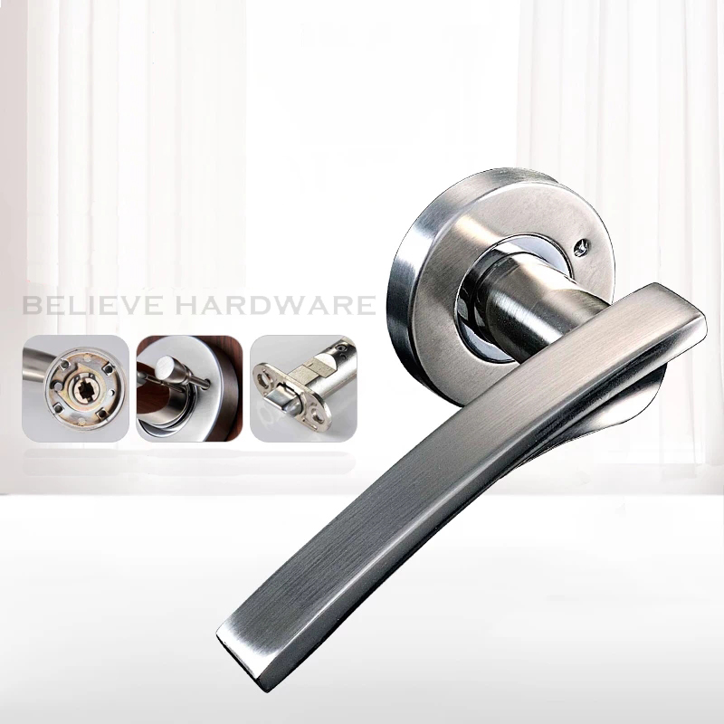 KINLONG-W60527115 Shower Door Lock Without Keys Lever Handle Locks For Washing Room/Bedroom/Study Room t handle vending machine pop up tubular cylinder lock w 3 keys vendo vending machine lock serving coffee drink and so on