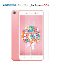 VOONGSON 0.02mm Screen Protector for Lenovo S60 0.2mm 2.5D Tempered Glass for Lenovo S 60 Protective Film Cover Clean Kits voongson 9h 2 5d screen protector for lenovo s90 s 90 tempered glass for lenovo s90 s 90 protective toughened glass film