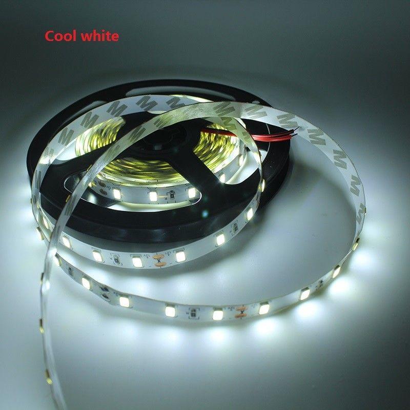 150 M 12 V 300LED 5630 SMD 60led/m Гибкая полоса света холодный белый не водонепроницаемый