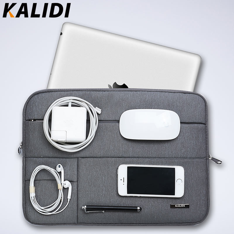 KALIDI Laptop Sleeve Bag Waterproof Notebook case bags For Macbook Air 11 13 Pro 13 15 Retina Surface pro 2017 newest hot sleeve case bag for macbook laptop air 11 12 13 pro retina 13 3 protecter wholesales drop free shipping