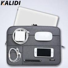 KALIDI Ноутбук Рукава Сумка Водонепроницаемый Ноутбук сумки случай Для Macbook Air 11 13 Pro 13 15 Retina Surface pro