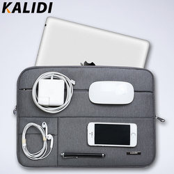 Kalidi laptop sleeve bag waterproof notebook case bags for macbook air 11 13 pro 13 15.jpg 250x250