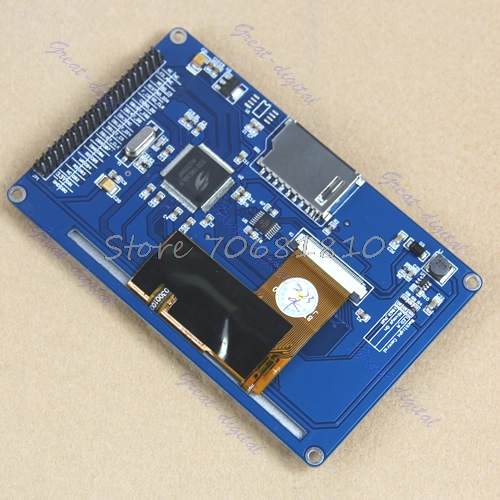 Touch Panel Screen + 4.3 TFT LCD Module Display + PCB Adapter Build-in SSD1963 #K400Y# DropShip