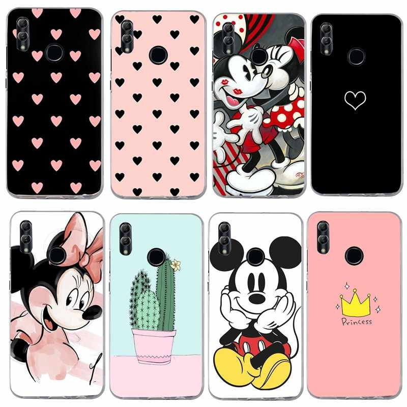 Cute 3D For Huawei P Smart 2019 Case Silicone Soft TPU Cover For Huawei Honor 10 Honor 7A P20 P9 P10 Y5 Y6 Prime 2018 Capa