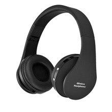 Conjunto de cabeza de bluetooth Auriculares Inalámbricos auriculares inalámbricos Estéreo Plegable para PC con micrófono Inalámbrico bluetooth auriculares