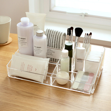 acrylic office desk. solid color transparent acrylic makeup organizer desktop plastic storage box for cosmetics and office desk k