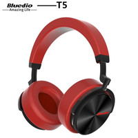 Bluedio T5 Headphone Active Noise Cancelling Wireless Bluetooth Headphones Portable Headset With Microphone For Phones And
