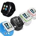 2016 новые bluetooth Смарт часы u8 релох inteligente носимых Наручные Часы для apple iPhone Samsung Android Phone