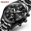 Genuine Automatic Watch OEVS Brand Men Calendar Display Quartz Auto Date Male Watches Water Resistant